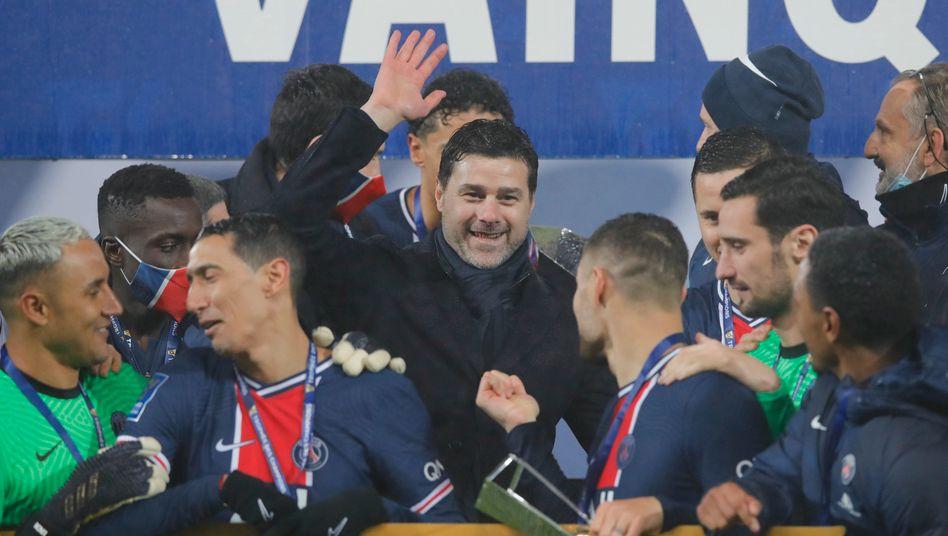 Mauricio Pochettino hat bei seiner vierten Trainerstation erstmals einen Titel gewonnen