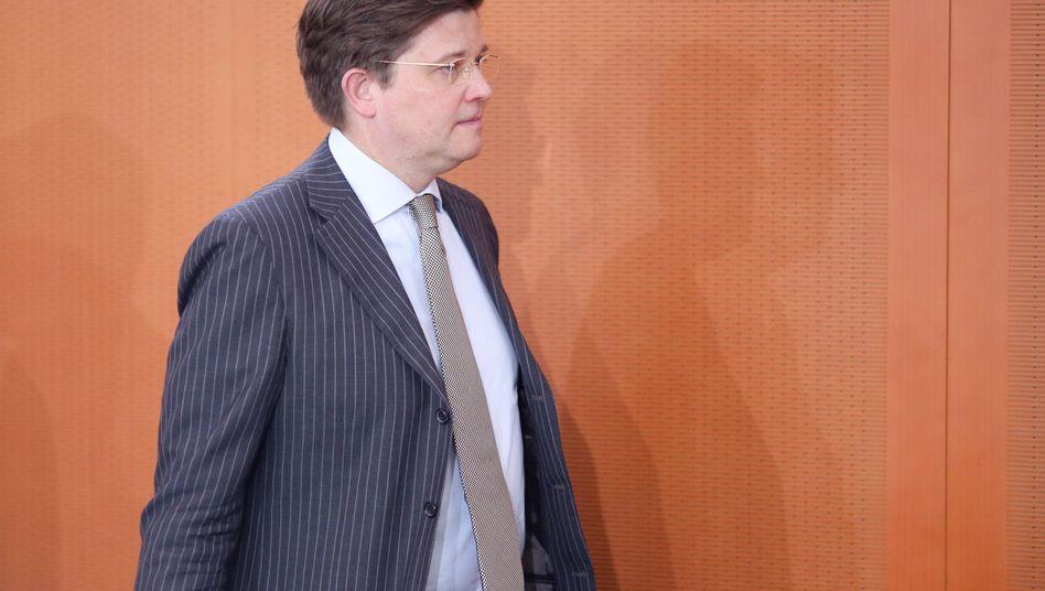 Scheidender Staatsminister Klaeden: Mit keinen Aufgaben betraut