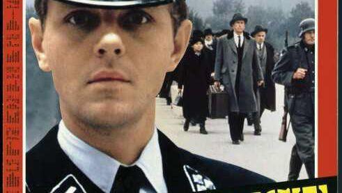 SS-Offizier Erik Dorf (gespielt von Michael Moriarty) auf dem Titel des SPIEGEL 5/1979