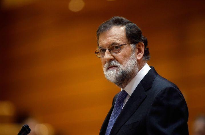 Spaniens Regierungschef Rajoy