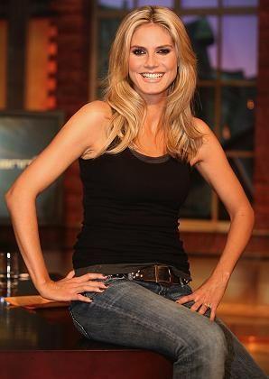 Heidi Klum made up all purdy.