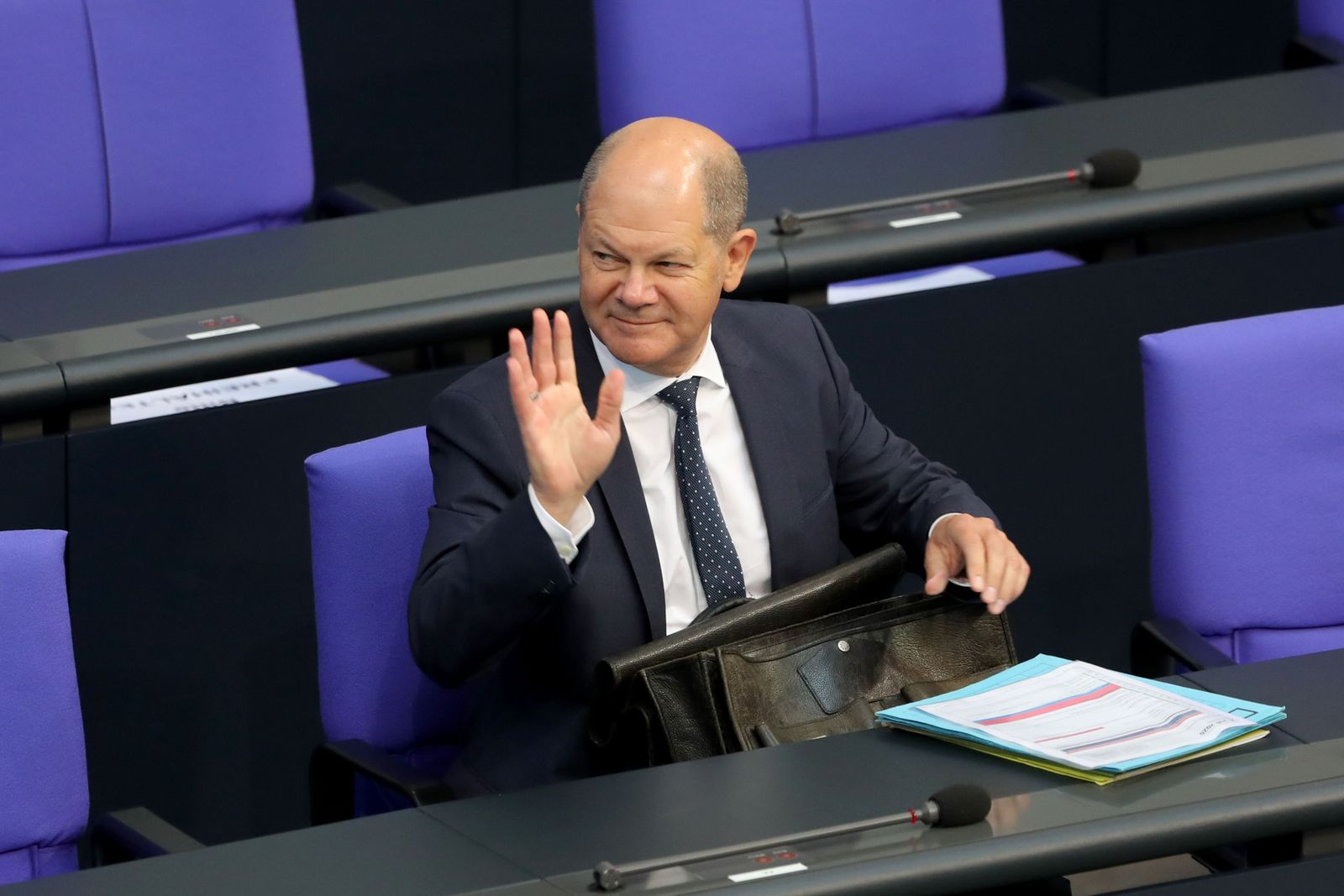 Olaf Scholz becomes SPD candidate for chancellor, Berlin, Germany - 02 Jul 2020