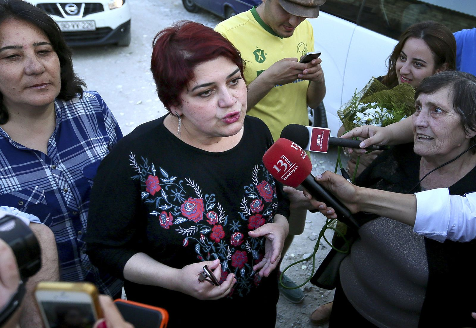Alternativer Nobelpreis/ Khadija Izmajilowa