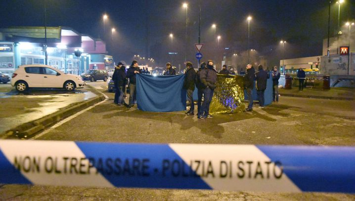 Berlin-Attentäter erschossen: Die Nacht von Mailand