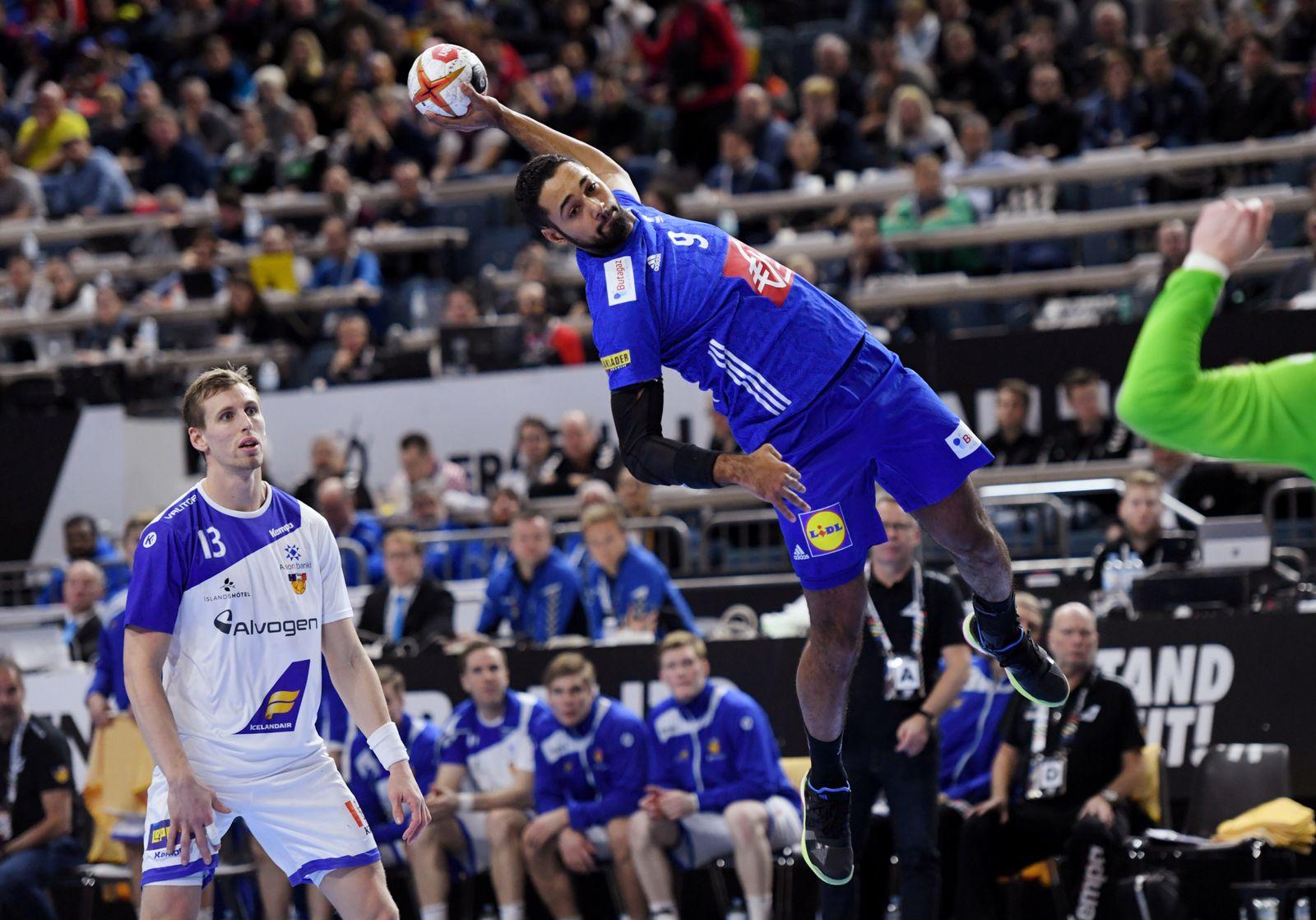 IHF Handball World Championship - Germany & Denmark 2019 - Main Round - Group 1 - Iceland v France