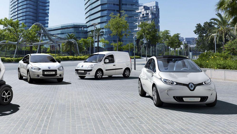 """Elektroautos von Renault: """"Wir wollen die Marktführerschaft"""""""