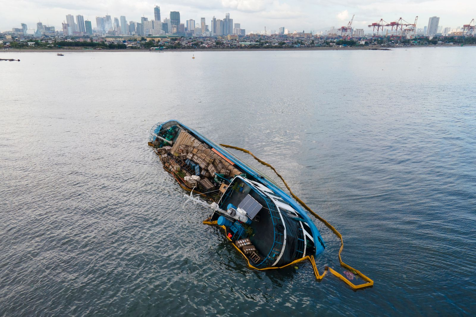 Schiffskollision vor den Philippinen