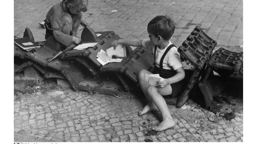 Kindheit nach dem Krieg: Geburtstag in Trümmern