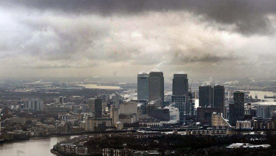 Finanzdistrikt von London: Angst vor der Bankenflucht