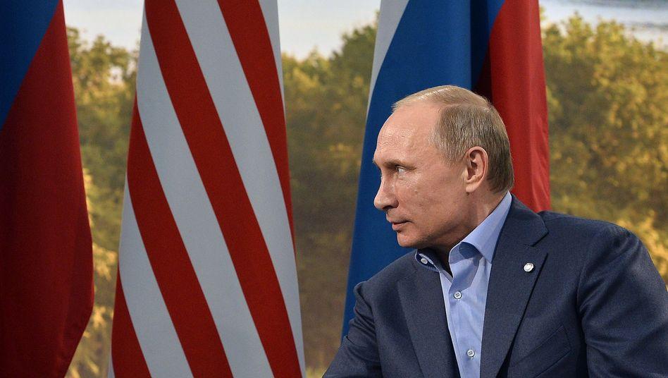 Präsidenten Obama, Putin (Archivbild): Eisige Zeiten