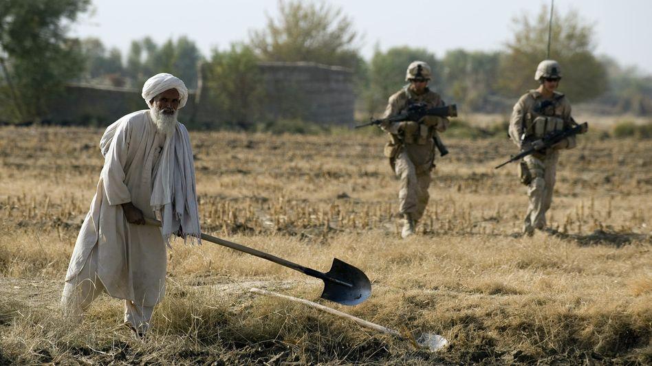 Vor dem vollständigen Rückzug aus Afghanistan? US-Soldaten