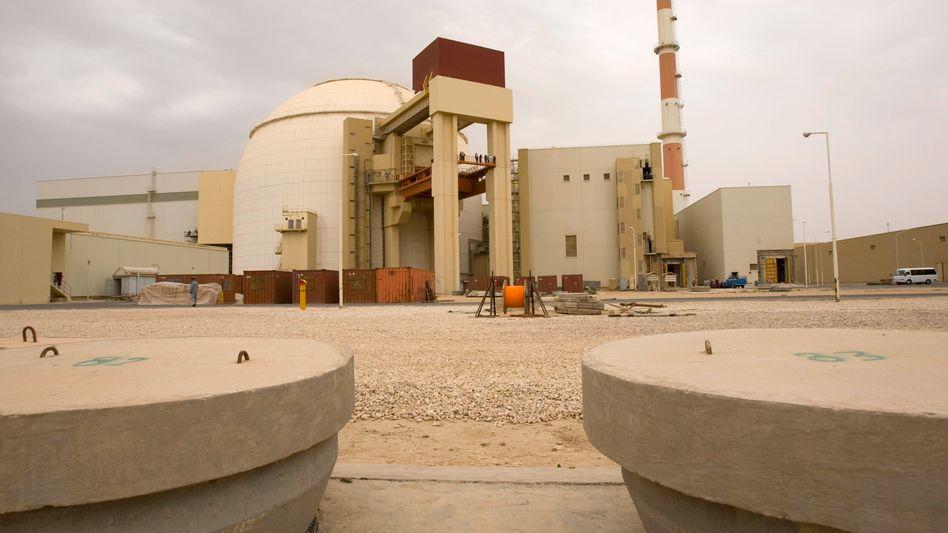 Irans Atomkraftwerk Buschehr: Der Meiler soll bald mit Brennstoff versorgt werden