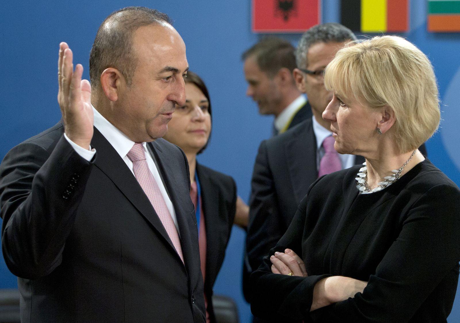 Wallström und Cavusoglu