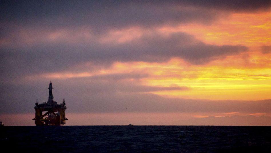 Shell-Bohrinsel im Pazifik: Erfolg für den Energieriesen