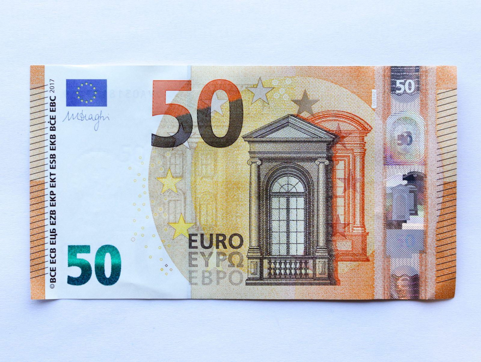 Neuer 50 Euroschein