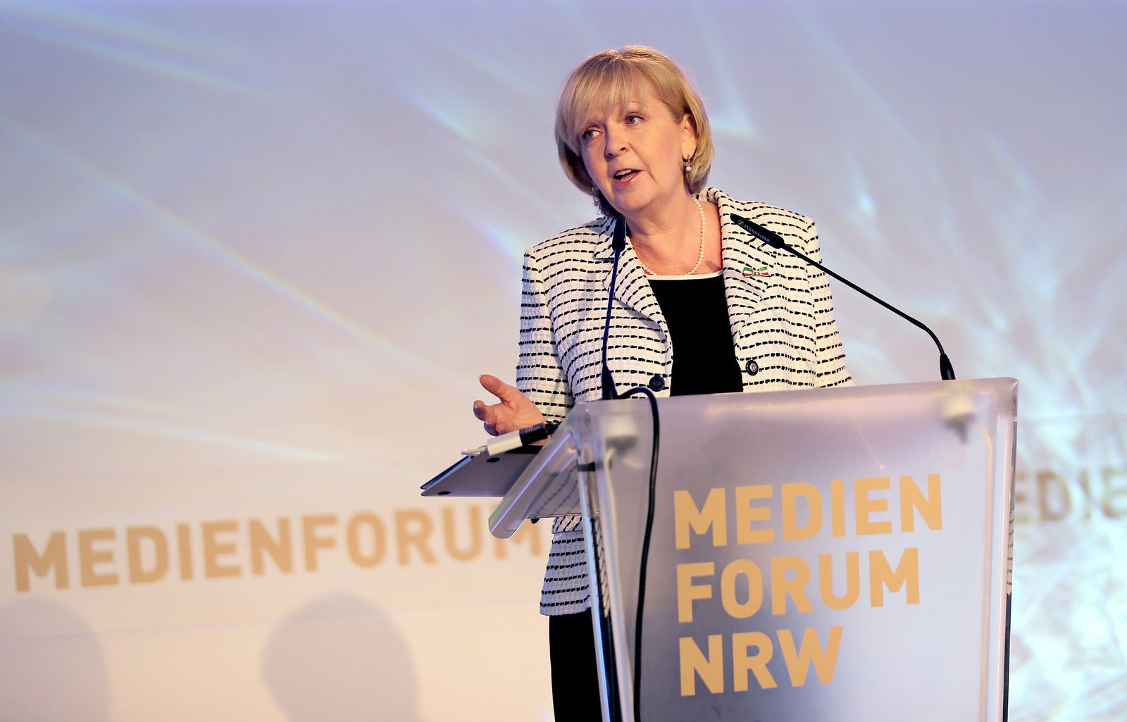 Hannelore Kraft/ Medienforum