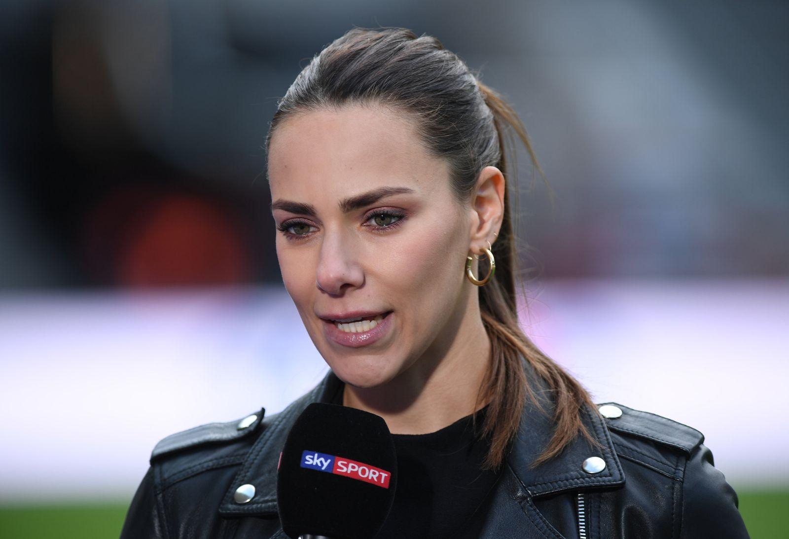 Sportjournalistin Esther Sedlaczek