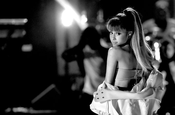 Ariana Grande letztes Jahr bei einem Konzert