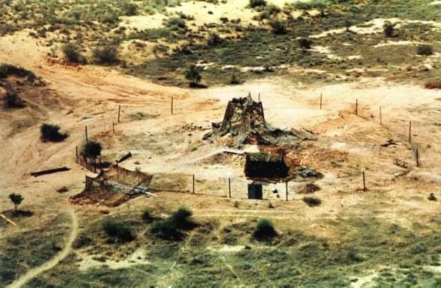 EINMALIGE VERWENDUNG Atomare Wüsten #6