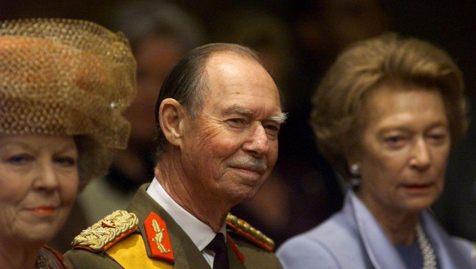 Luxemburgs Großherzog Jean (im Jahr 2000)