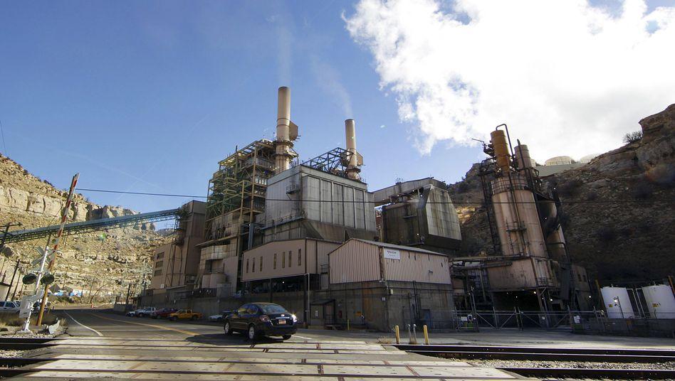 Kraftwerk im US-Bundesstaat Utah (im November 2012): 2005 war CO2-Boomjahr