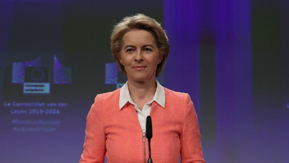 """Ursula von der Leyen: """"Eine Kommission, die auch umsetzt, was sie angekündigt hat"""""""