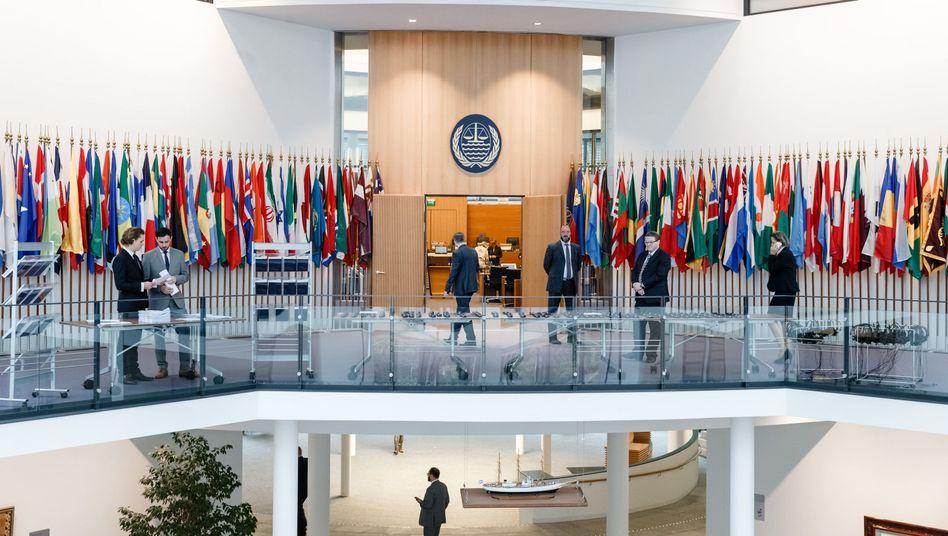 Verhandlungssaal des Internationalen Seegerichtshofs