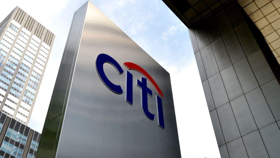 Der Finanzdienstleister Citigroup hat Kreditgebern mehr als 500 Millionen Dollar zu viel bezahlt