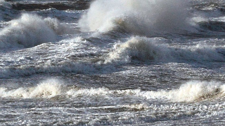 Waves of the North Sea. The body of water could be more vulnerable to tsunamis than previously thought.
