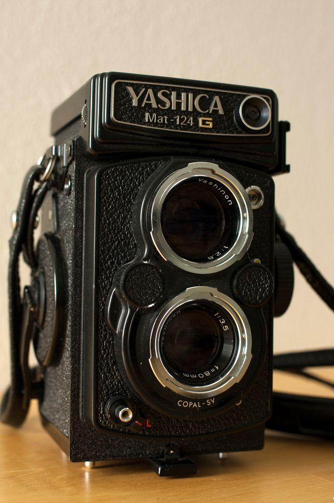 Kamera-Oldies / Yashica 124-G