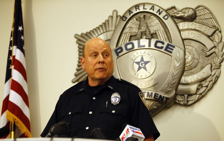 """Garlands Polizeisprecher Joe Harn: """"Sehr gute Arbeit"""""""