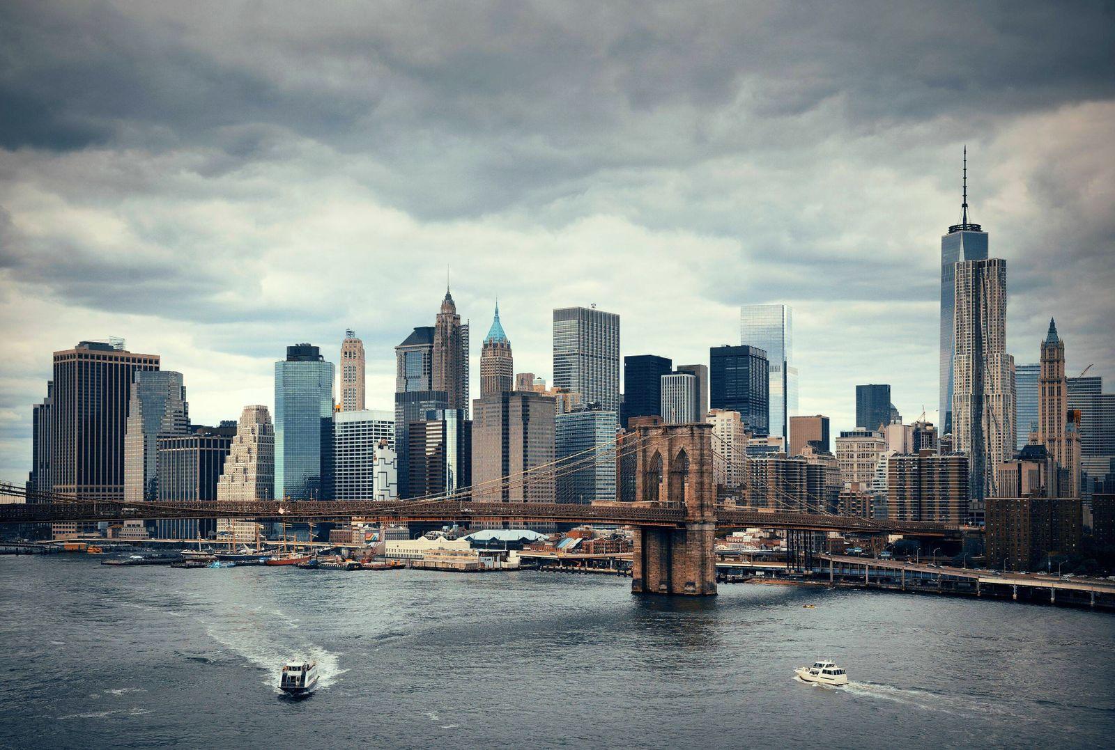 travel New; York New York City Cityscape architecture Water New York Skyline United Ny PUBLICATIONxNOTxINxCHN 2681248525