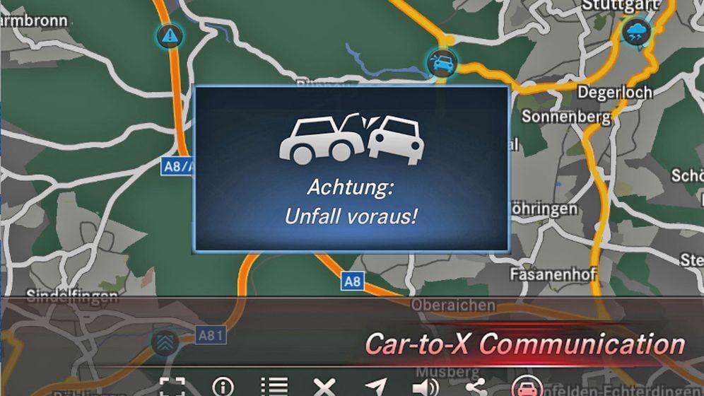 Car-to-X-Kommunikation: Weiter als das Auge reicht