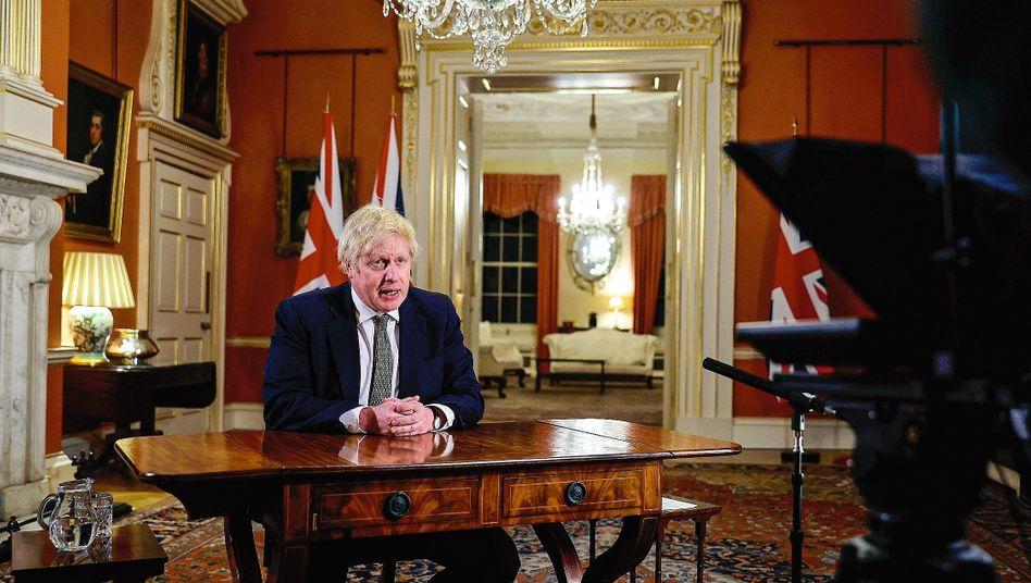 Regierungschef Johnson:Die kommenden Wochen werden »die bislang härtesten«