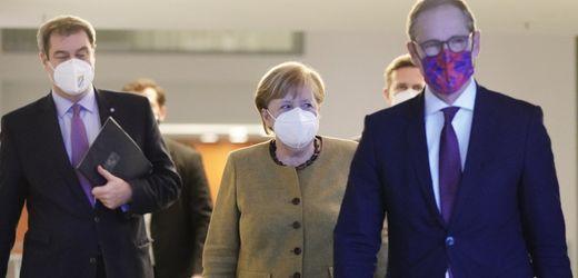 Coronavirus: Bund und Länder basteln am Lockdown zur Pandemiebekämpfung