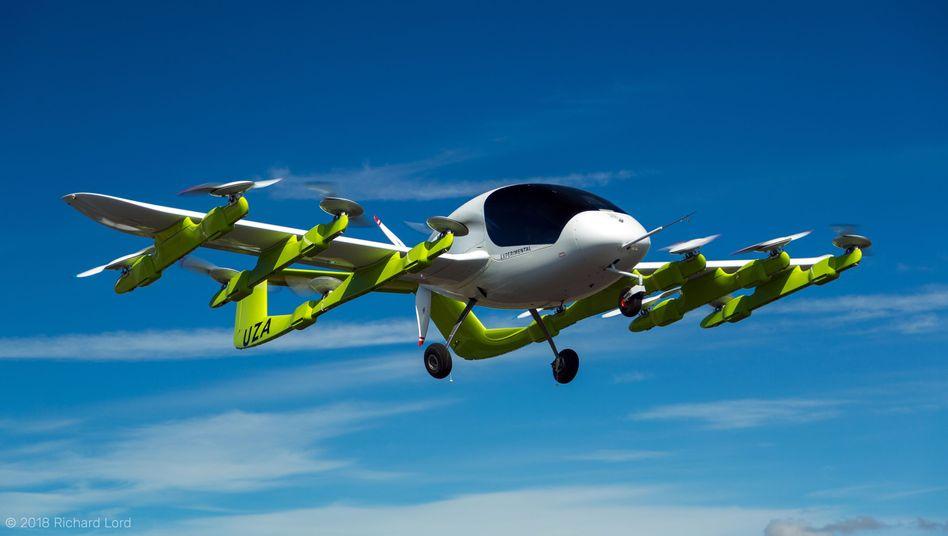 Prototyp eines Lufttaxis