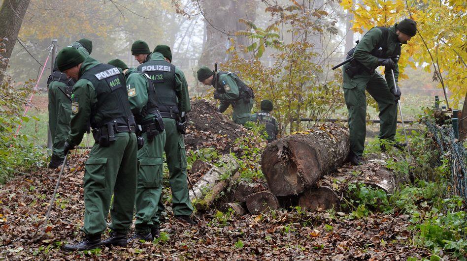 Ermittlungen im Augsburger Siebentischwald (Archivfoto): Zwei Männer festgenommen