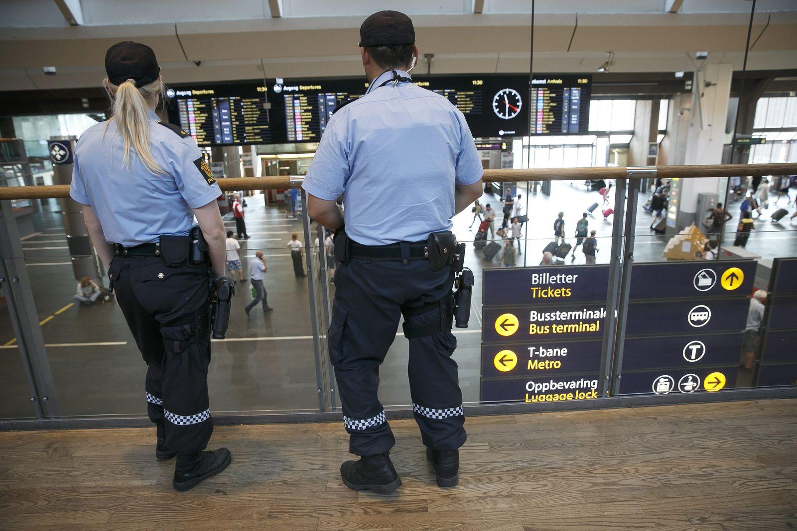 Sicherheit in Oslo