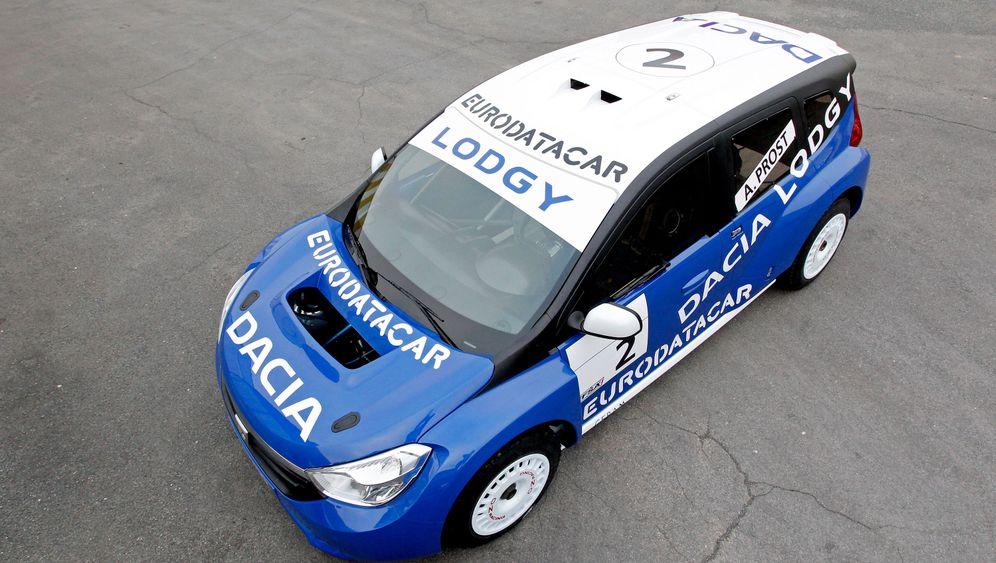 Dacia Lodgy Glace: Drift in die Öffentlichkeit