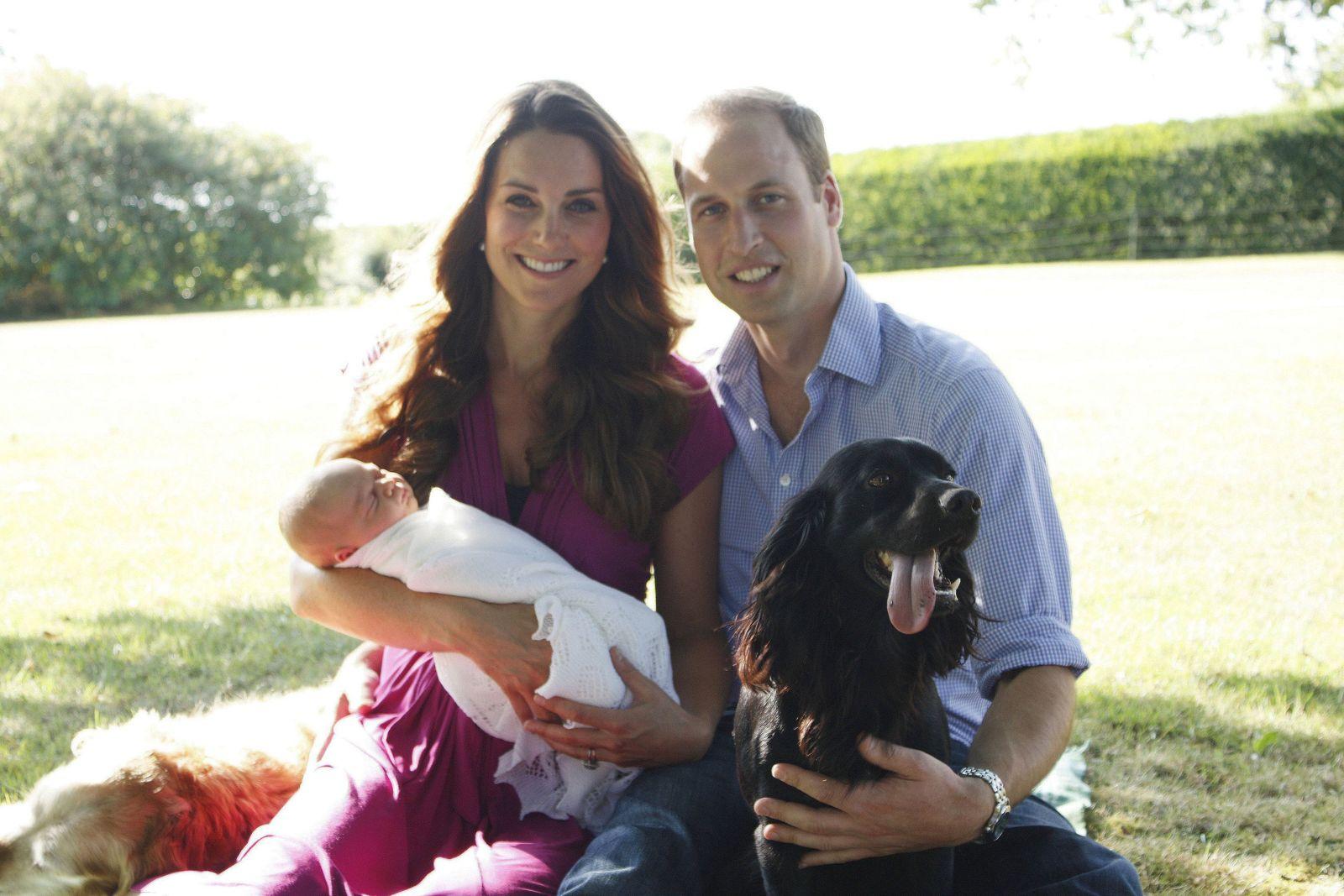 Duke and Duchess of Cambridge dog Lupo dies