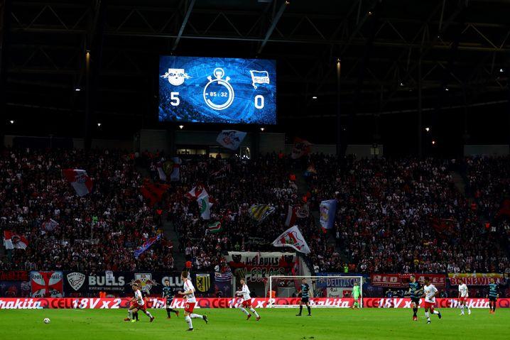 RB Leipzig arbeitet sich immer weiter an Borussia Dortmund und Bayern München heran.
