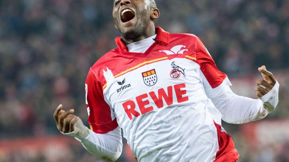 Kölns Matchwinner Anthony Modeste