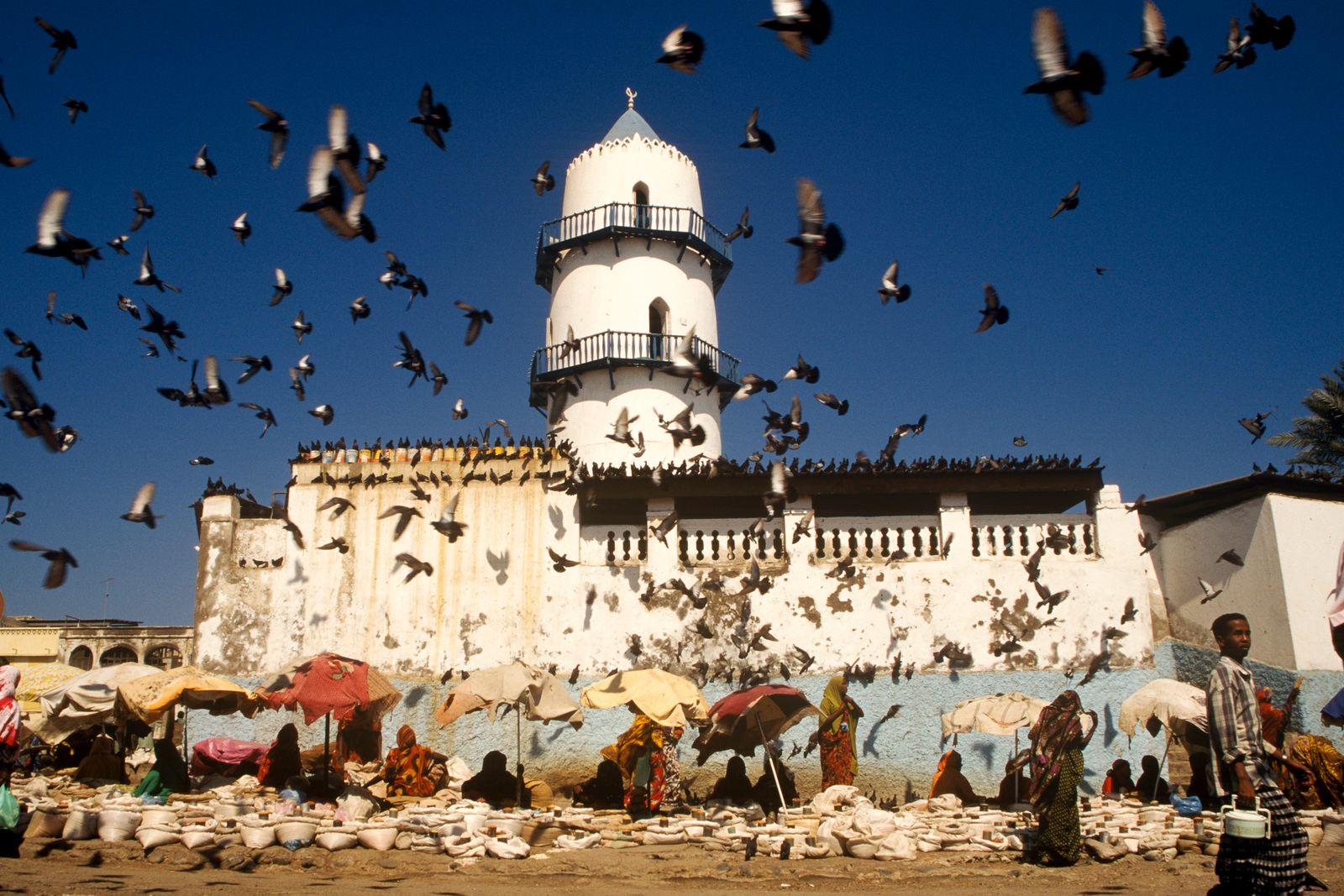 Djibouti - The Hamoudi Mosque