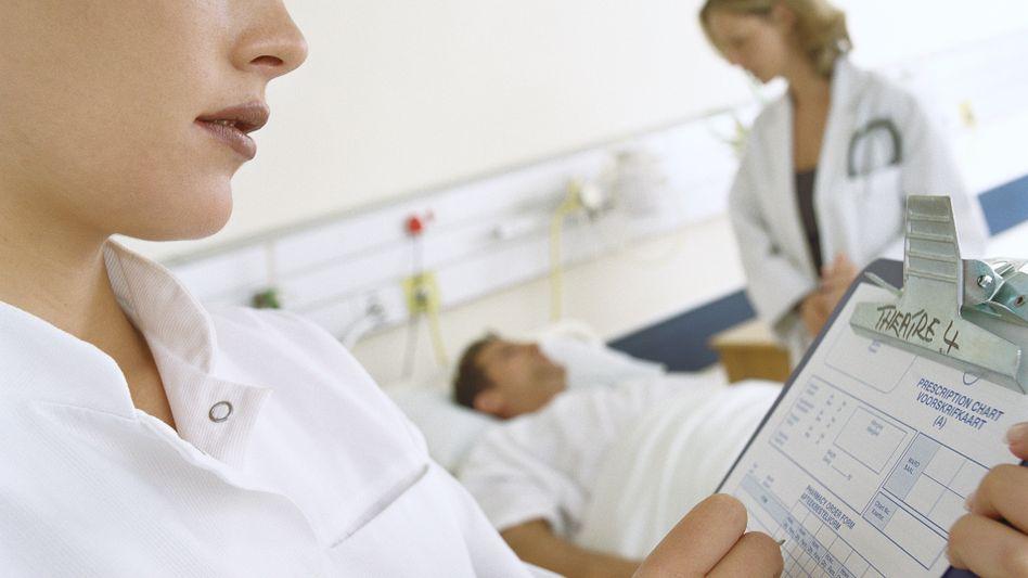 Patient im Krankenhaus: Punktesystem gibt das Blutungsrisiko an