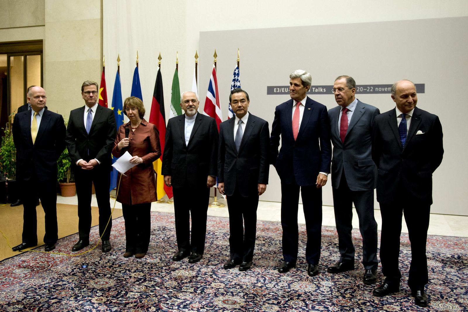 Foreign ministers in Geneva in second try to close Iran deal