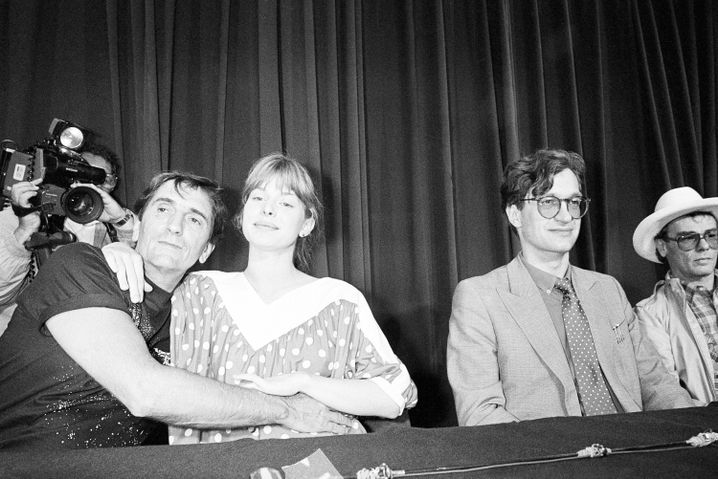 """Paris, Texas""-Stars Harry Dean Stanton, Nastassja Kinski, Regisseur Wim Wenders"