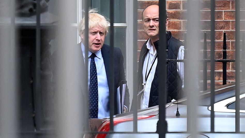 Premier Johnson, Berater Cummings: Täuschung der Queen als Teil des Brexit-Plans?