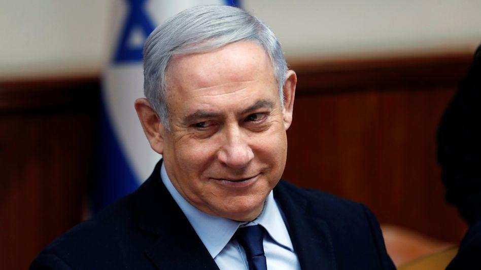 Israels Premierminister Benjamin Netanyahu: Schwerer Schaden für israelische Viehzüchter