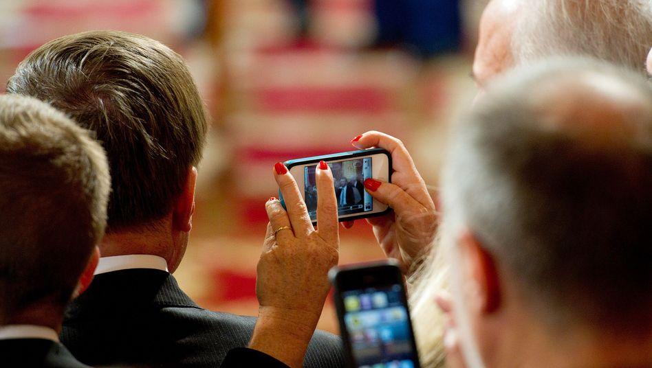 Smartphone-Nutzer: Die Ausbreitung des mobilen Datenverkehrs steht erst am Anfang
