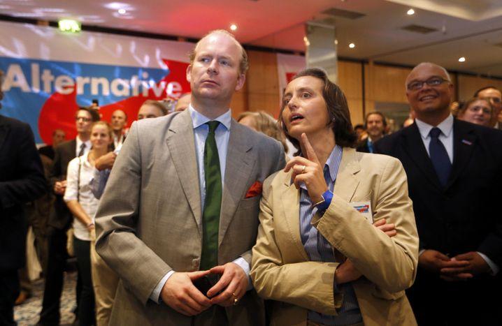 Beatrix von Storch (rechts), Ehemann: Konservative Netzwerker